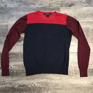 French Connection multi colored sweater M-L
